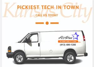 Allstar Heating Cooling Van